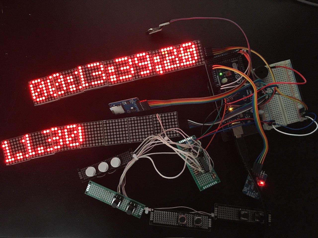 Arduino Clapperboard Slate Cinema