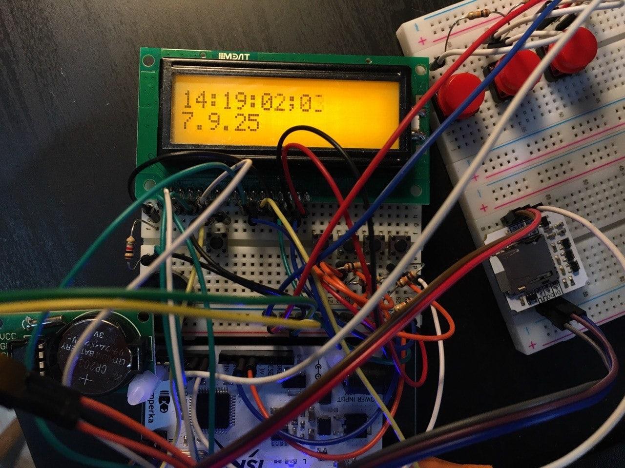 Прототип хлопушки на Arduino. Arduino Slate Capperboard